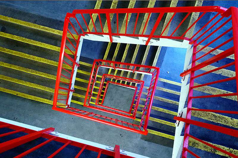 staircase - Amy Radin